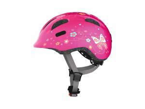 Abus casque d'enfant Smiley M pink butterfly