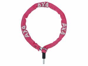 AXA Serrure plug-in chaîne RLC 100/5,5 rose