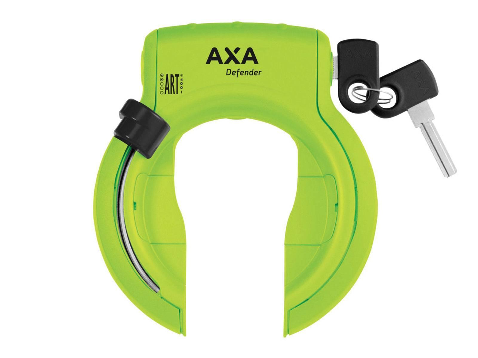 AXA antivol de cadre Defender vert