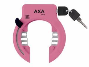 AXA antivol de cadre Solid XL rose