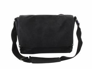 Basil sac à bandoulière Urban Fold noir