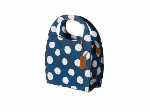 Basil sac de courses Mirte LTD bleu/blanc
