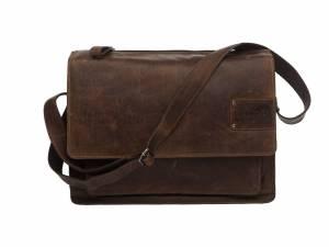 New Looxs Barolo sacoche pour ordinateur portable, brun
