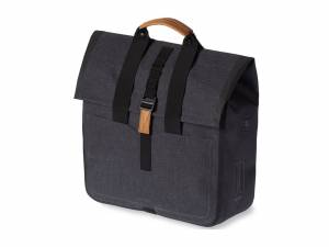 Basil Urban Dry Sac de courses charcoal