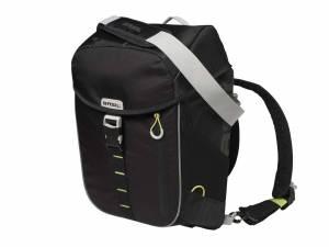 Basil sac à dos Miles noir lime