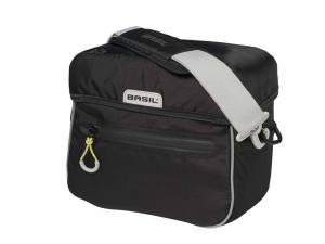 Basil sac de guidon Miles (BasEasy+Klickfix) noir lime