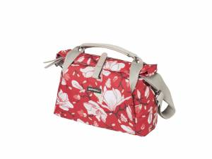 Basil sac de guidon Magnolia (BasEasy+Klickfix) poppy red