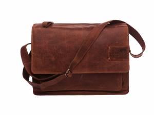 New Looxs Barolo sacoche pour ordinateur portable, cognac