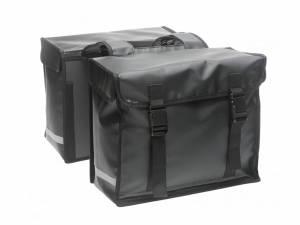 New Looxs Bisonyl sacoche double noir mat