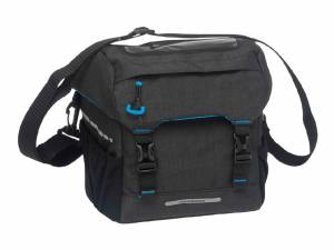 New Looxs sac de guidon Sports + Klickfix plaque d'adaptation, noir