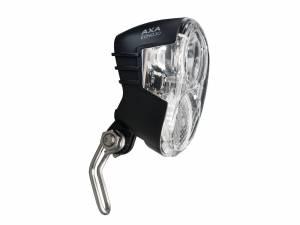Axa Lampe de vélo avant Echo LED 30 Lux Auto