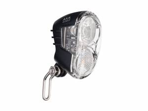 Axa Lampe de vélo avant Echo LED 15 Lux Auto
