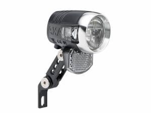 Axa Lampe de vélo avant Blueline LED 50 Lux Switch