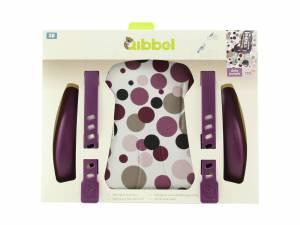 Qibbel styling set de luxe chaisse avant Dots violet