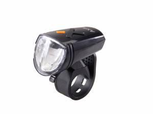 AXA Lampe de vélo avant Greenline 15 Lux Usb