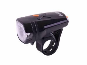 AXA Lampe de vélo avant Greenline 35 Lux Usb