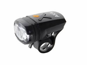 AXA Lampe de vélo avant Greenline 50 Lux Usb