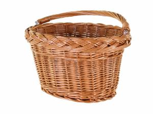 AROUND panier avant Willow Oval Basic en osier, naturel